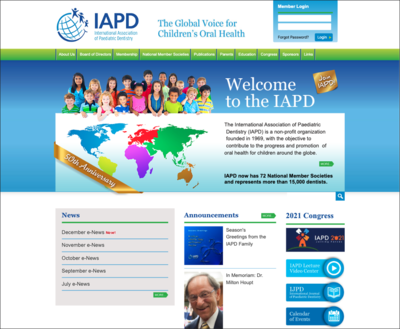 International Association of Paediatric Dentistry (IAPD)